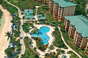 Aerial view of the Ritz-Carlton Club®, St. Thomas